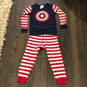 Hanna Andersson Boys Long John Pajamas
